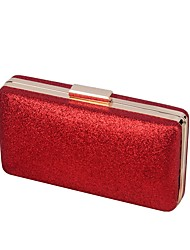 cheap -Women Bags PU Evening Bag Buttons for Shopping Casual All Seasons Champagne Gold Black Silver Red