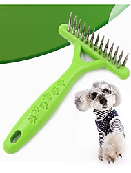 Недорогие -Кошка Собака Уход Расчески Компактность Зеленый