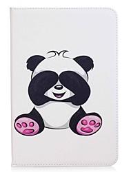 Недорогие -panda шаблон держатель карты кошелек с подставкой флип магнитный кожаный чехол pu для Samsung Galaxy Tab 8,0 t350 t355 8,0-дюймовый