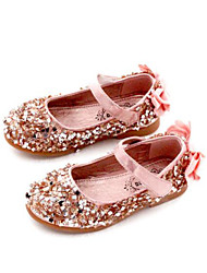 Girls' Shoes PU Winter Comfort Loafers & Slip-Ons For Casual Blushing Pink Silver Black
