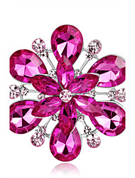 cheap -Women's Brooches Fashion Elegant Alloy Round Jewelry For Wedding Party