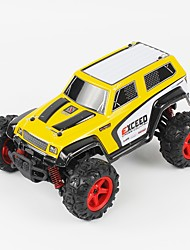 Coche de radiocontrol  FQ777 FQ777-9014 2.4G Off Road Car Alta Velocidad 4WD Drift Car Buggy Todoterreno Carro de Carreras 1:24 Brush