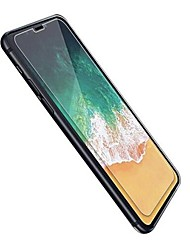 billige -Skærmbeskytter for Apple iPhone X Hærdet Glas 2 Stk. High Definition (HD) 9H hårdhed Eksplosionssikker