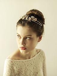 křišťálové rhinestone diadém květiny head headpiece elegantní styl