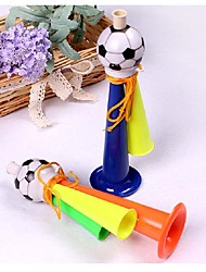 1pcs três tubos cheering horns futebol futebol horn party carnaval jogos de esportes ramdon color