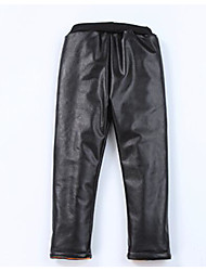 cheap -Girls' Solid Pants,Others Winter Black
