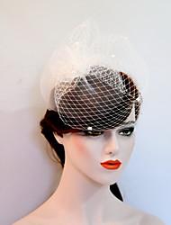 economico -fascinator di tulle net copricapo veli copricapo classico stile femminile