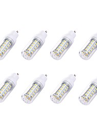 preiswerte -8St 2W 180 lm GU10 LED Mais-Birnen T 36 Leds SMD 5730 Weiß Wechselstrom 110-130V