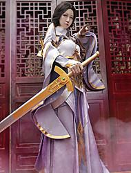 preiswerte -Inspiriert von Cosplay Cosplay Anime Cosplay Kostüme Cosplay Kostüme Sonstiges Rock Ärmel Taille Accessoire Für Frau