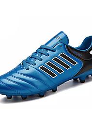 Masculino sapatos Borracha Outono Conforto Tênis Futebol Cadarço Para Laranja Amarelo Azul