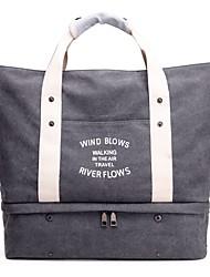 cheap -Women Bags Canvas Shoulder Bag Zipper for All Seasons Blue Black Gray Purple Coffee