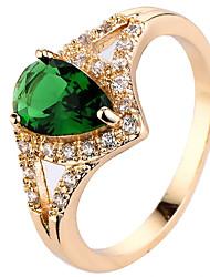 Муж. Жен. Кольцо на кончик пальца Обручальное кольцо Цирконий Циркон Медь Свисающие Бижутерия Назначение Свадьба Для вечеринок День