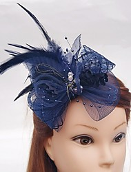 economico -net fascinators birdcage veli hair pin headpiece stile elegante