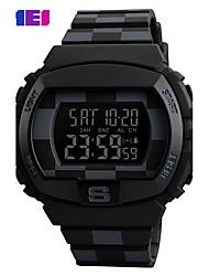 cheap -SKMEI Men's Sport Watch Digital Watch Digital LED Calendar Water Resistant / Water Proof Alarm Stopwatch Noctilucent PU Band Cool Casual