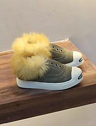 preiswerte -Jungen Schuhe Echtes Leder Winter Komfort Flache Schuhe Für Normal Khaki