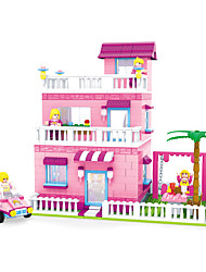 Building Blocks Toys House Garden Theme Fairytale Theme Houses Cartoon Design Princess Kids Boys 501 Pieces