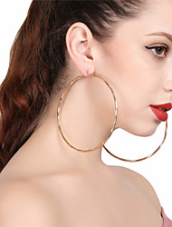 Women's Drop Earrings Hoop Earrings Sexy Oversized Alloy Circle Jewelry For Party Street