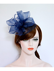 cheap -Net Flowers Hats Headpiece Wedding Party Elegant Feminine Style