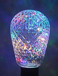 1 pc ywxlight® e27 40led 8.0 4 couleurs led ampoule chaîne de lumière boules pour noël fée vacances ac 85-265v