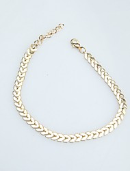 cheap -Women's Anklet / Bracelet Alloy Geometric Jewelry For Daily Date