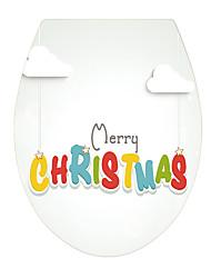 economico -Natale Parole e citazioni Adesivi murali Adesivi 3D da parete Adesivi toilet 3D,Vinile Materiale Decorazioni per la casa Sticker murale
