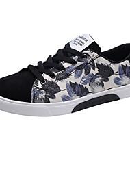 economico -Da uomo Scarpe PU (Poliuretano) Primavera Autunno Comoda Sneakers Per Casual Bianco/nero Nero/Rosso White/Blue