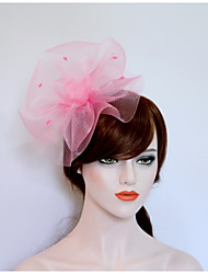 cheap -Flannelette Net Flowers Hats Headpiece