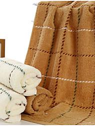 Недорогие -Свежий стиль Полотенца для мытья,В полоску Высшее качество 100% хлопок Полотенце