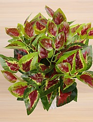 preiswerte -2 Bündel scindapsus Blätter 7 gabelte Frühlingsgras 3 Farbe 35cm Hauptdekoration