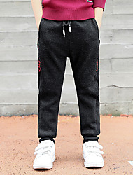 cheap -Boys' Pants, Cotton Winter Other Black