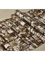 Mønster Baggrund Til hjem Moderne Vægbeklædning , PVC/Vinyl Materiale Lim påkrævet tapet , Værelse Tapet