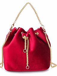 cheap -Women Bags Velvet Tote Pockets for Casual Winter Fall Black Red Dark Green Light Gray