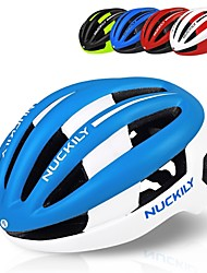 cheap -Nuckily Bike Helmet BMX Helmet Cycling 16 Vents Impact Resistant Adjustable Ergonomic Design Aero Helmet Safety Gear Light and Convenient