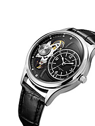 cheap -MEGIR Men's Wrist watch Dress Watch Fashion Watch Casual Watch Automatic self-winding Hot Sale Leather Band Casual Cool