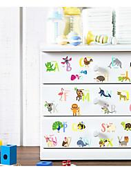 Недорогие -Геометрия абстракция 3D Наклейки 3D наклейки Декоративные наклейки на стены,Бумага материал Украшение дома Наклейка на стену