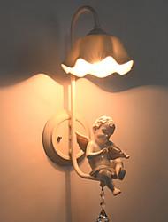 billige -Baggrundsbelysning Vekselstrøm 220-240 AC 110-120V E26 E27 Tiffany Rustikt/hytte Retro/vintage Moderne / Nutidig Tradisjonell / Klassisk
