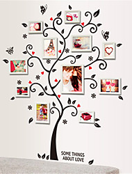 cheap -Wall Stickers Wall Decals, Love Tree Photo Frame Stickers EVA Wall Stickers