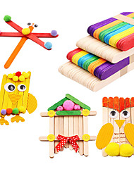DIY KIT Toys Novelty Toys Houses Architecture Family Handmade Classic Holiday New Design Kids Adults' 100 Pieces