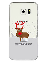 Case For Samsung Galaxy S8 Plus S8 Pattern Back Cover Christmas Soft TPU for S8 Plus S8 S7 edge S7 S6 edge plus S6 edge S6
