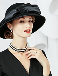 cheap -Wool Silk Hats 1 Special Occasion Party / Evening Headpiece