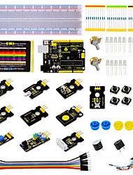 Недорогие -набор датчиков для ключей - k1 для комплекта для ардуинового стартера с картой uno r3 mq-3ds18b20ir ресивер-передатчик