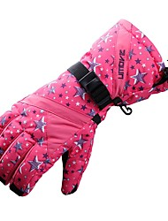 cheap -Ski Gloves Women's Full-finger Gloves Keep Warm Nylon Ski / Snowboard Winter