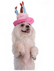 Kat Hund Hatte, hætter og bandanaer Hundetøj nyt Hold Varm Hovedvarmere Romantik Yndig Bogstav & Nummer Blå Lys pink Kostume For kæledyr