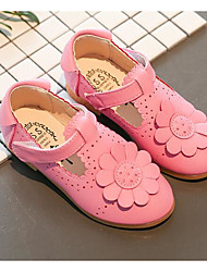 economico -Da ragazza Scarpe PU (Poliuretano) Primavera Autunno Comoda Scarpe da cerimonia per bambine Ballerine Per Casual Bianco Fucsia Rosa