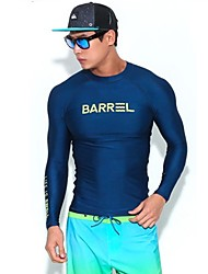 cheap -Men's Diving Rash Guard Quick Dry Stretchy Long Sleeves Diving & Snorkeling Diving / Snorkeling Surfboards