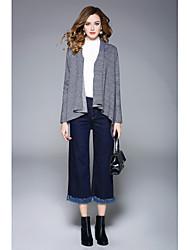cheap -Women's Long Sleeve Cardigan Print V Neck