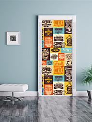 abordables -Mode 3D Stickers muraux Autocollants muraux 3D Autocollants muraux décoratifs, Vinyle Décoration d'intérieur Calque Mural Mur