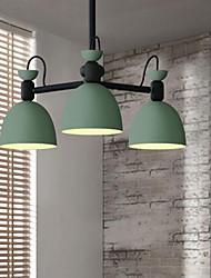 abordables -Moderno/Contemporáneo Lámparas Colgantes Para Dormitorio Habitación de estudio/Oficina Hall AC 100-240 AC 110-120V Bombilla no incluida