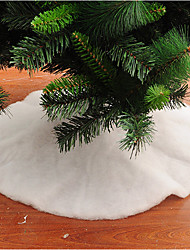 cheap -1pc Christmas Decorations Christmas Tree Skirts Holiday Decorations,90*90