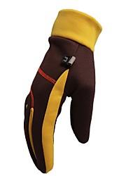 cheap -Winter Gloves Men's Women's Full-finger Gloves Keep Warm Waterproof Rain-Proof Skiing Ski / Snowboard Climbing Winter